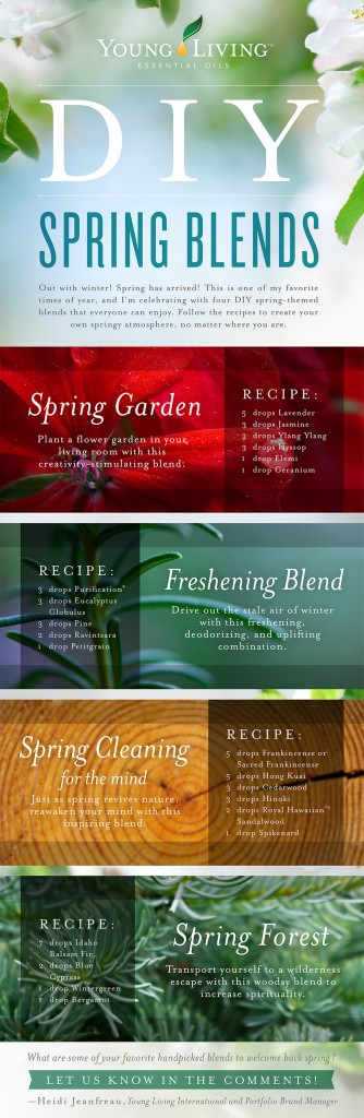 DIY Spring Blends - Young Living