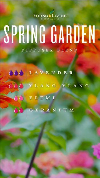 Spring garden essential oil diffuser blend