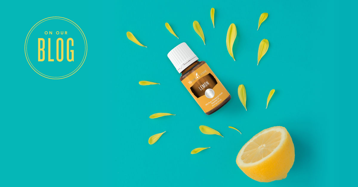 How To Use Lemon Essential Oil Young Living Blog