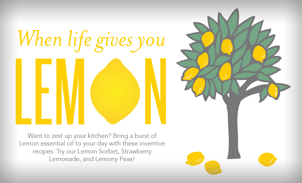 Recipes with Young Living Lemon Essential Oil