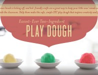 DIY Play Dough - Young Living