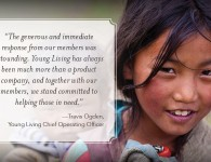Travis Ogden - Young Living - Nepal Thank You Letter