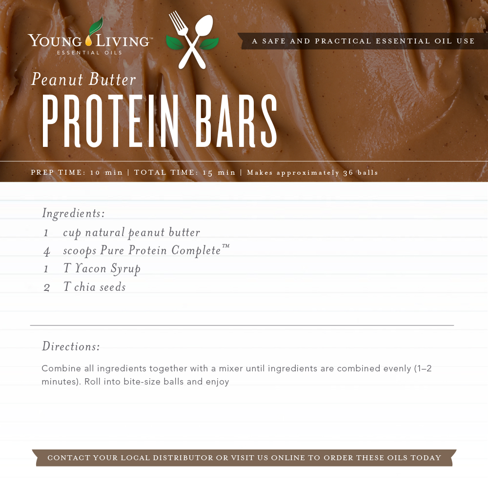 Protein Balls - Young Living