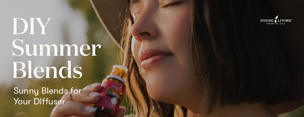 DIY Summer Blends - Sunny Blends for Your Diffuser Young Living essential oils
