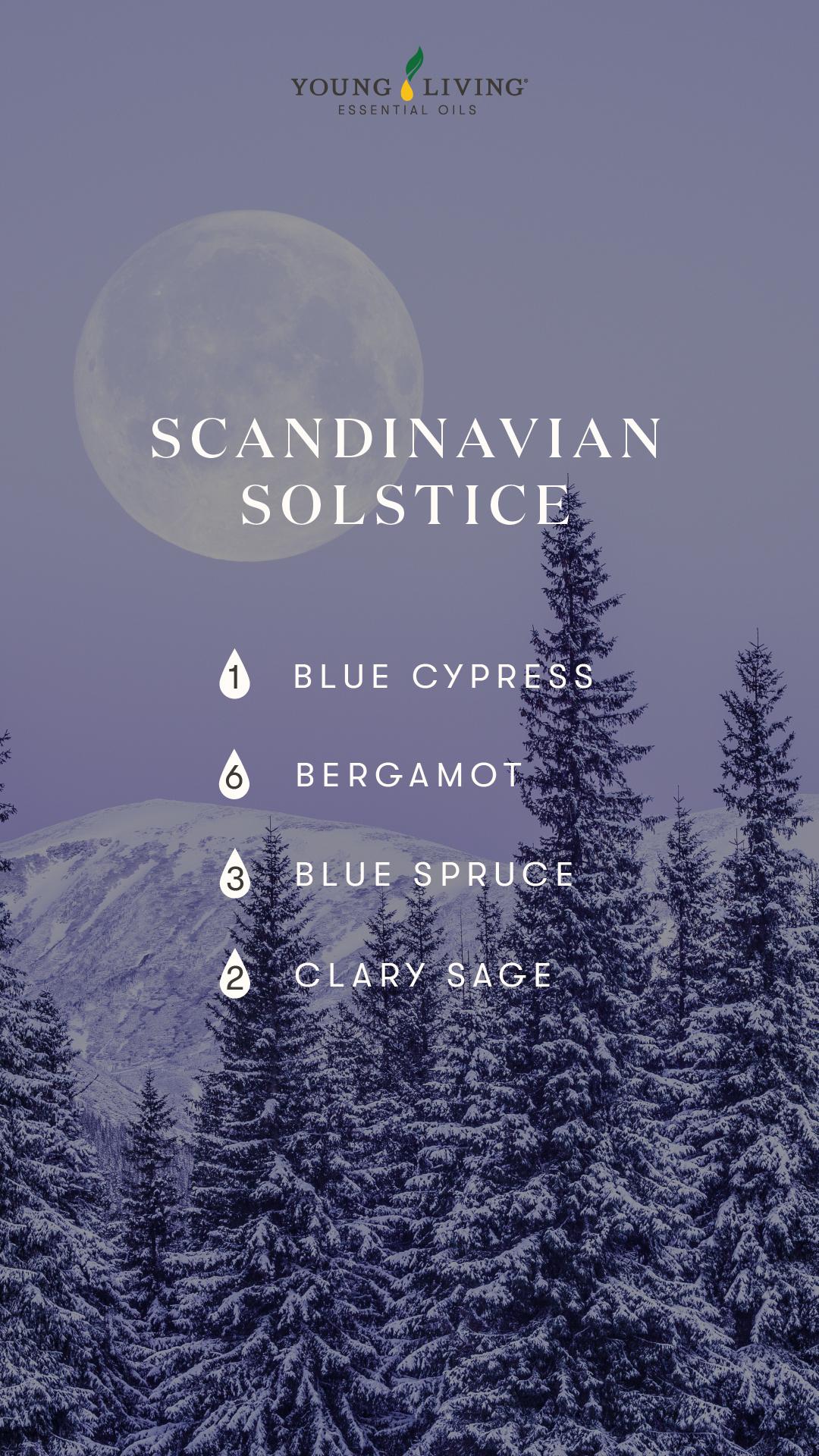 Scandinavian Solstice Diffuser blend