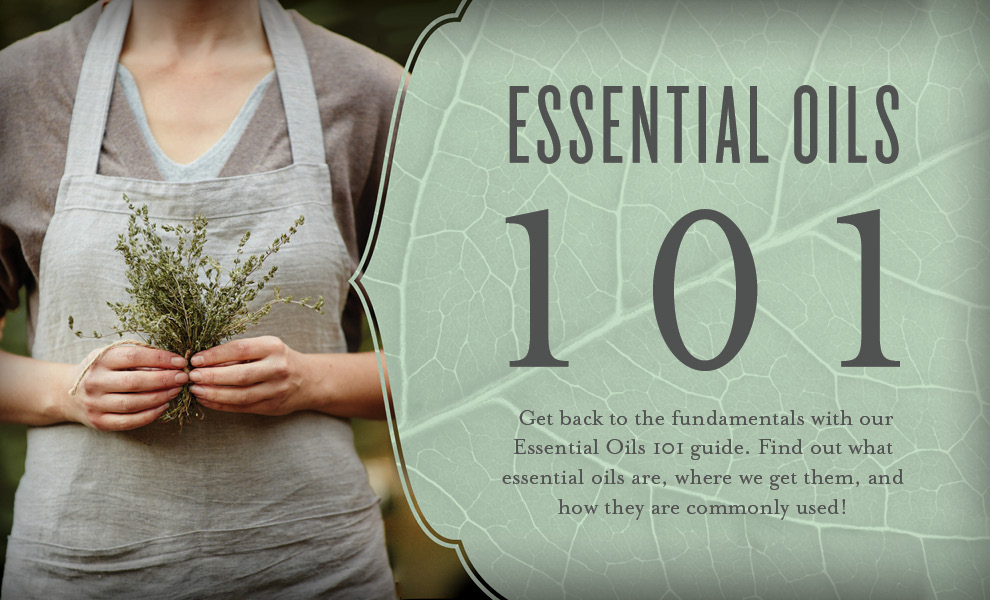 Essential Oils 101 Header - Young Living