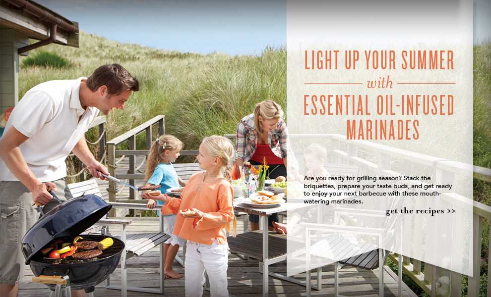 Marinades with Essential Oils - Young Living
