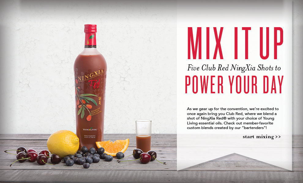 NingXia Red Shot Recipes - Young Living