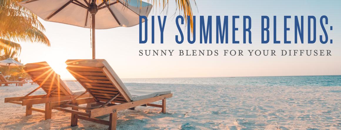 Diy Summer Blends Sunny Blends For Your Diffuser