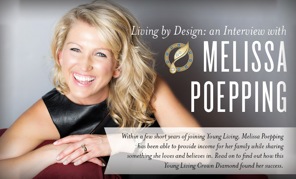 Melissa Poepping - Young Living Crown Diamond