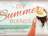 DIY Summer Blends - Young Living