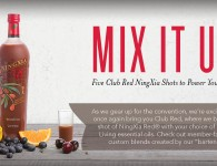 NingXia Red Shot Recipes with Essential Oils - Young Living