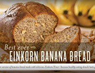 Einkorn Flour Banana Bread Recipe - Young Living