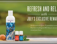 Young Living Promotion - Ravintsara, Morning Start Bath & Shower Gel, AromaSiez