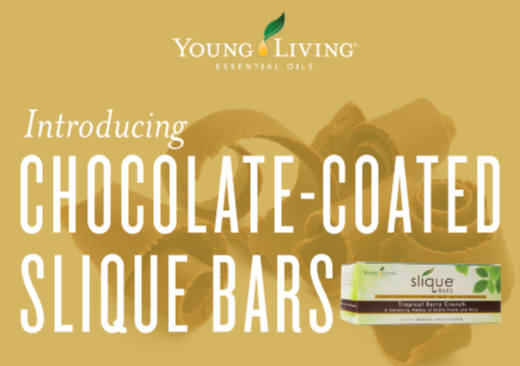 Chocolate-Coated Slique Bars - Young Living