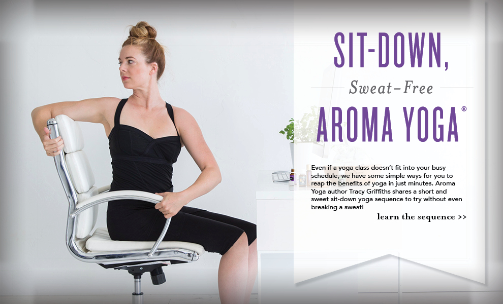 Young Licing - Sit-Down, Sweat0Free Aroma Yoga with Essential Oils