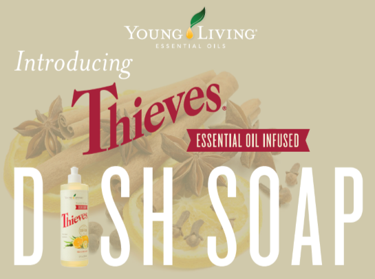 Thieves Essential Oil Infused Dish Soap - Young Living