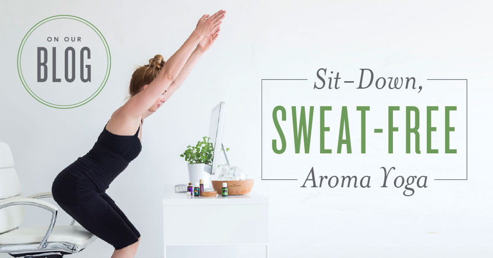 Sweat Free Yoga with Essential Oils
