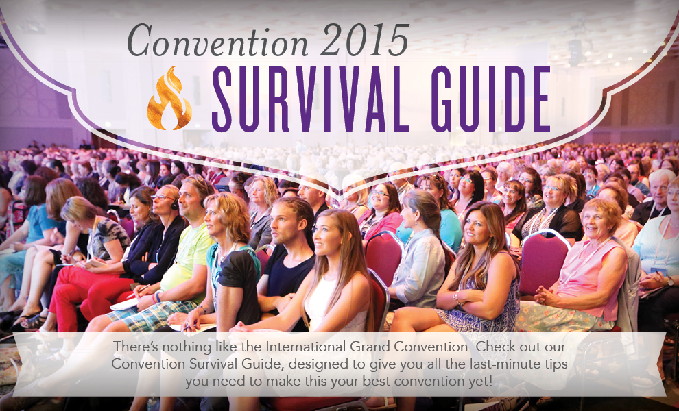 Convention 2015 Survival Guide - Young Living