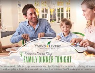 Benefits of Eating Dinner at Home - Young Living