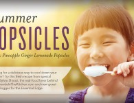 Ginger Pineapple Popsicles with Essential Oils - Young Living