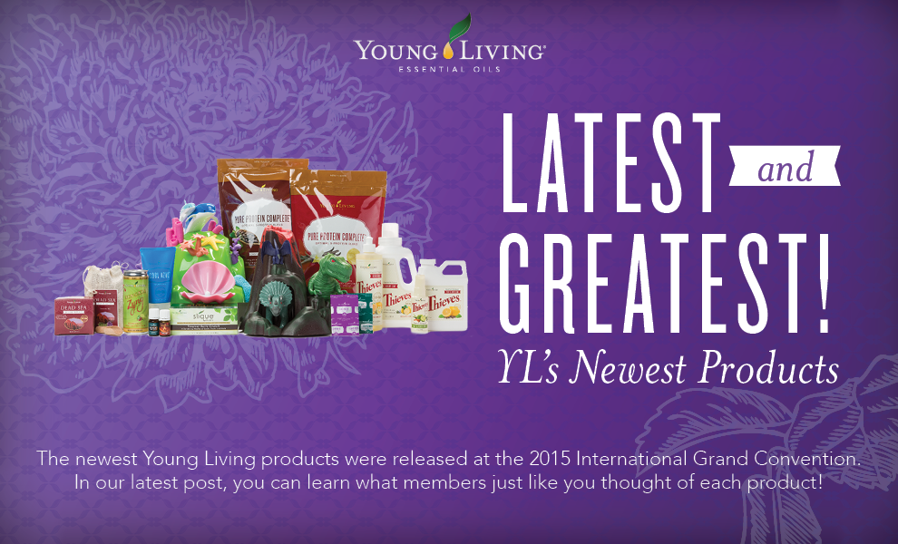 Convention 2015 Products - Young Living
