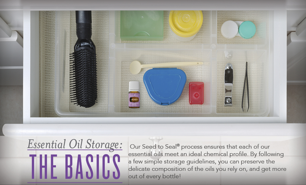 Essential Oil Storage Tips - Young Living