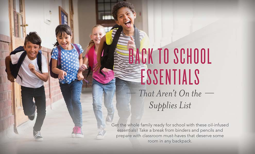 Back To School Essential Oils And More Young Living Blog