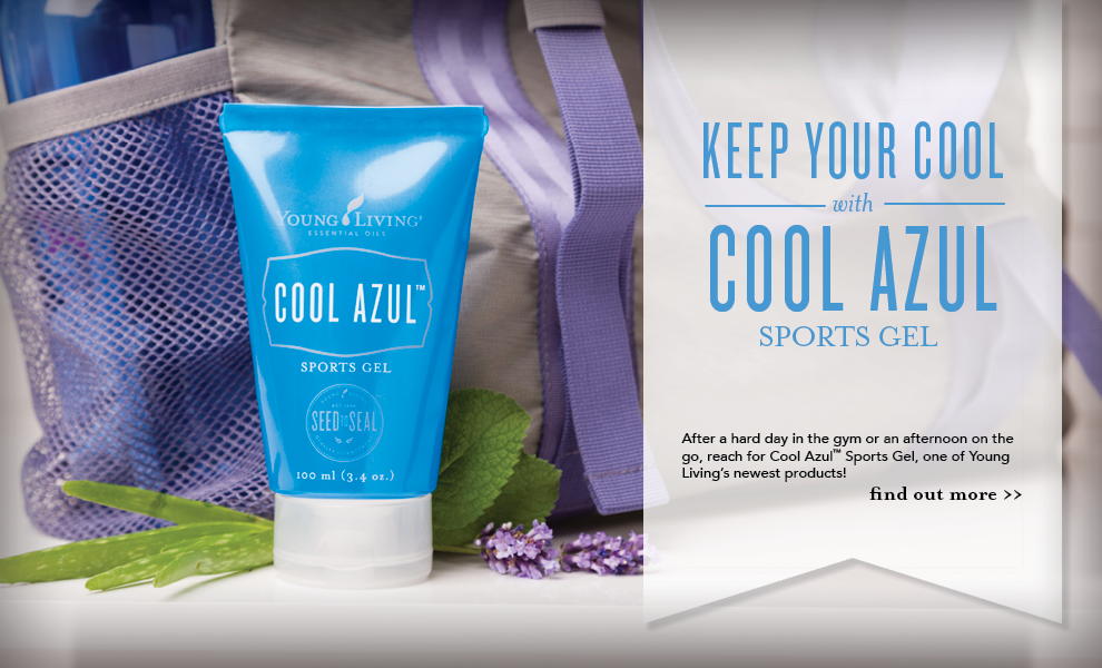 Cool Azul Sports Gel - Young Living
