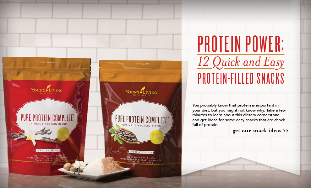 Protein Snacks - Young Living