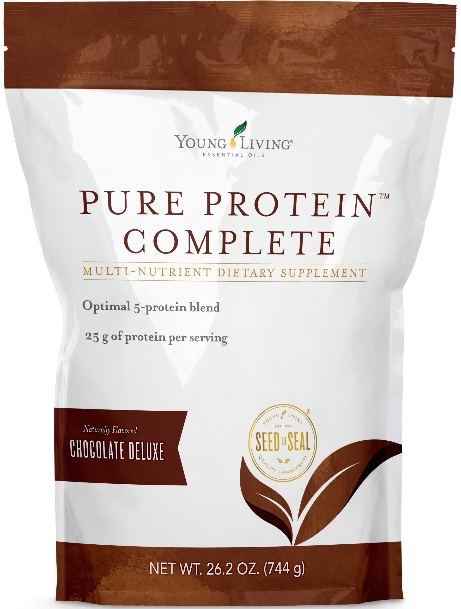 Chocolate Protein Powder | Young Living Protein Complete Deluxe Chocolate