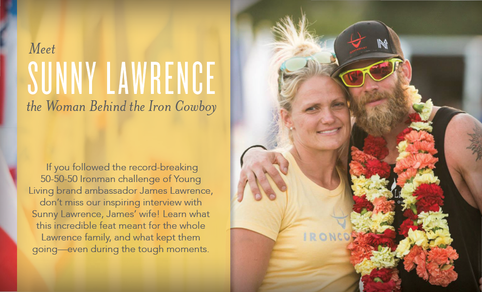 Sunny Lawrence: The woman behind the Iron Cowboy