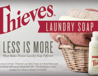 Young Living Thieves Laundry Soap
