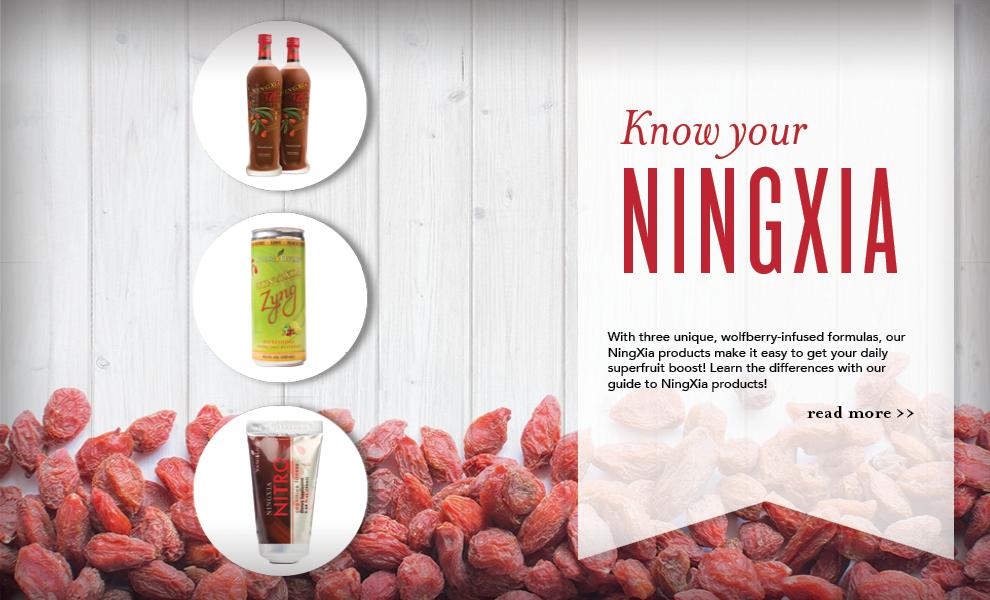 NingXia Differences - NingXia Red, NingXia Nitro, NingXia Zyng - Young Living