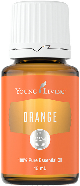 Orange Essential Oil - Young Living
