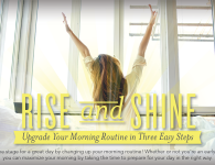 Rise and Shine: Upgrade Your Morning Routine in Three Easy Steps