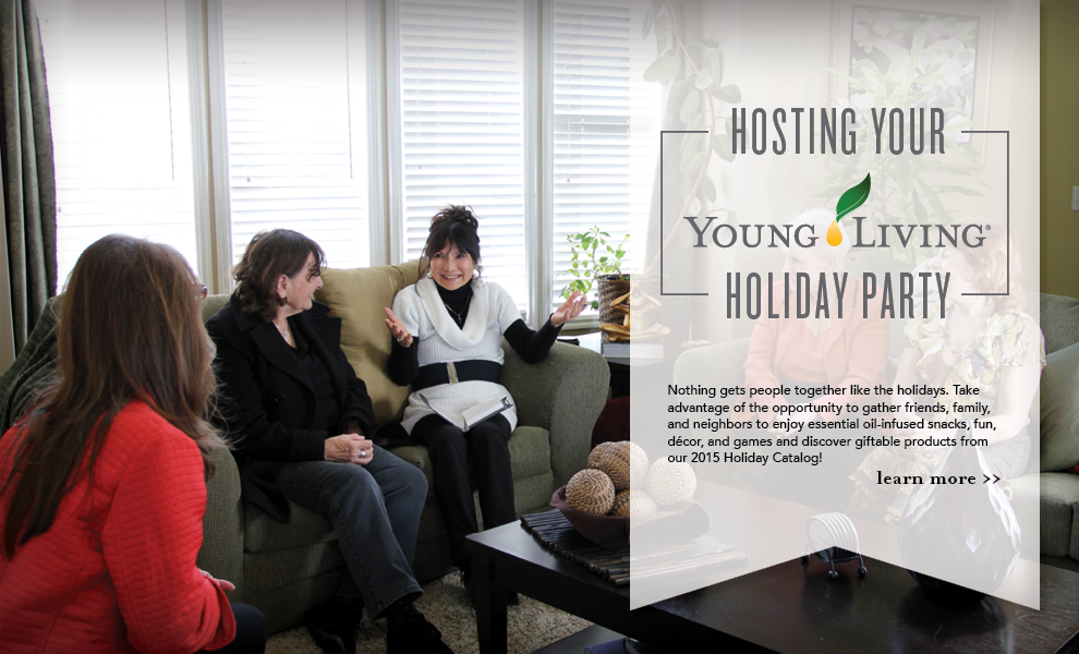 How to Host a Young Living Holiday Party