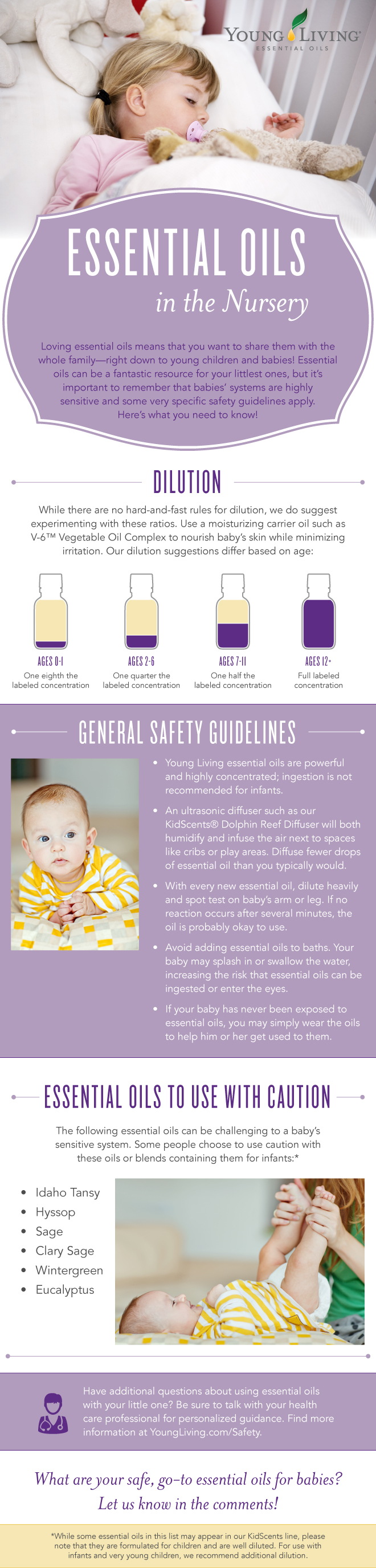 Essential Oils for Babies | Young Living Essential Oils