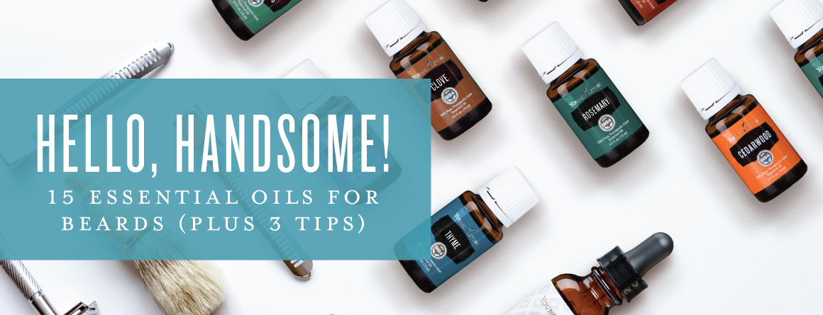 Hello, handsome! 15 essential oils for beards (plus 3 tips)