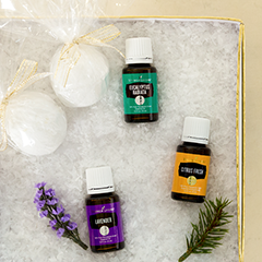 Young Living DIY Essential Oil Shower Bombs