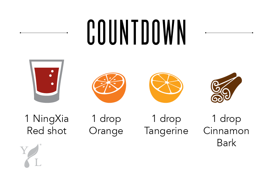 "NingXia Bar Shot Idea ""Countdown"" - Young Living"