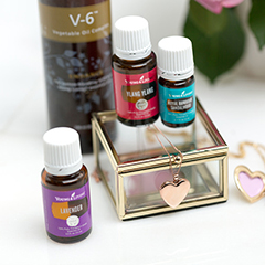 DIY Solid Perfume Lockets with Essential Oils - Young Living