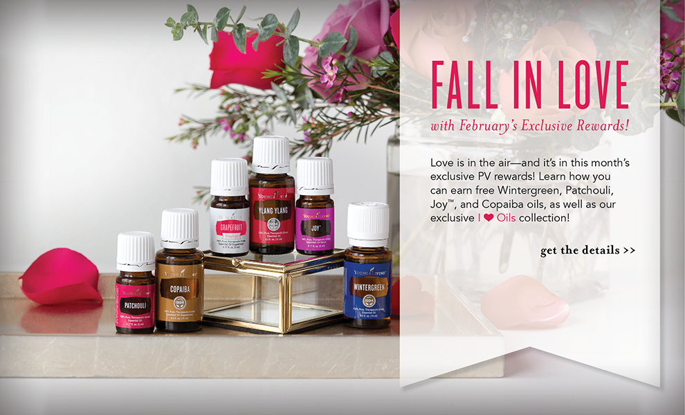Young Living Promotion - Grapefruit Vitality, Ylang Ylang, Copaiba, Patchouli, Wintergreen Essential Oils