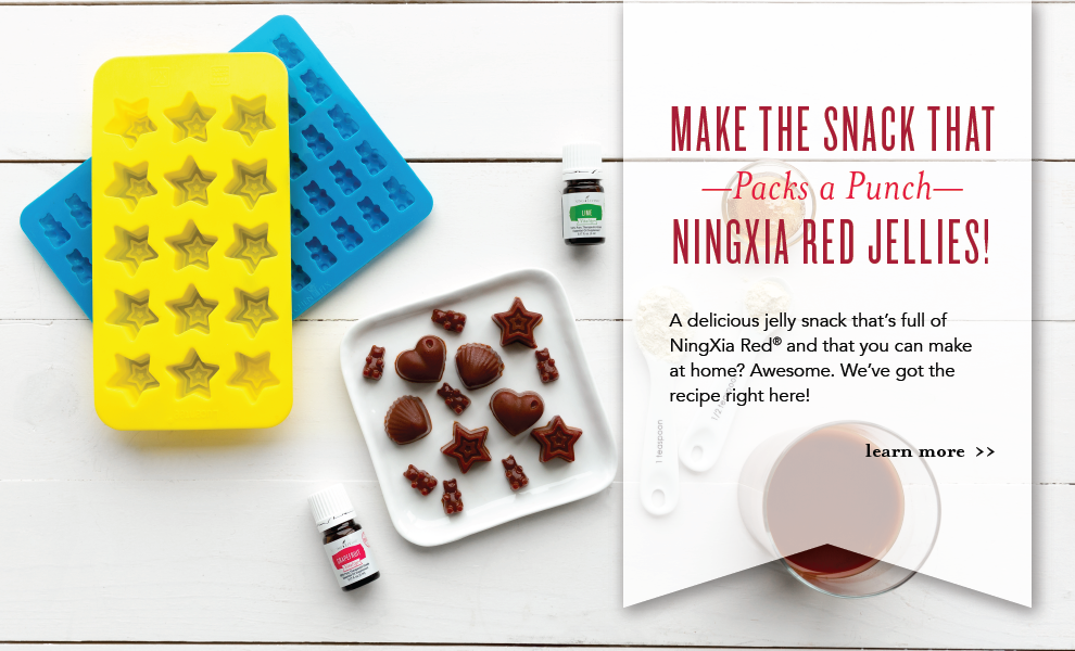 Make the Snack that Packs a Punch—NingXia Red Jellies!