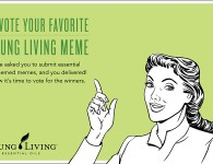 Young Living Meme Competition