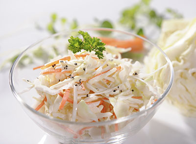 Greek Yogurt Coleslaw with Young Living Vitality Essential Oils