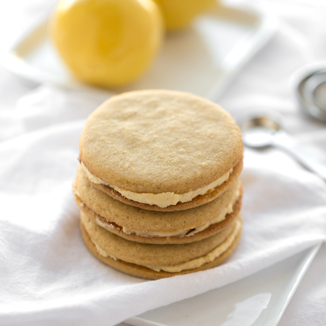 Einkorn-Lemon NingXia Sandwich Cookies Recipe By Kathleen Campbell