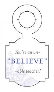 Blog-Teacher Gifts_Gift Tags_Believe