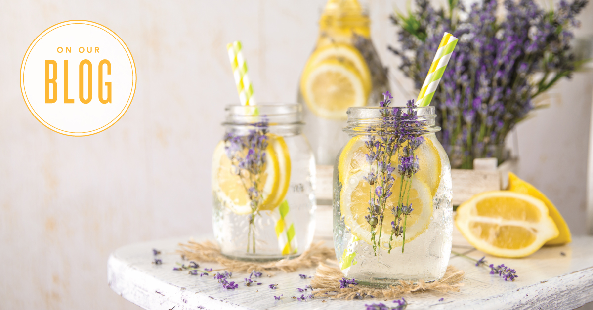 Honey-Lavender Lemonade