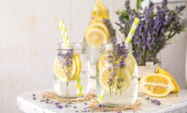 Honey-Lavender Lemonade